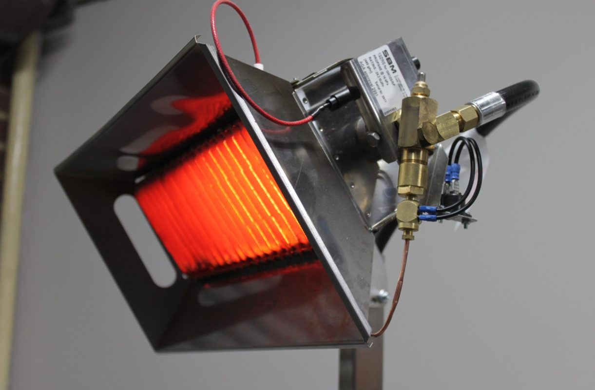 Infrared gas heaters: general description and advantages